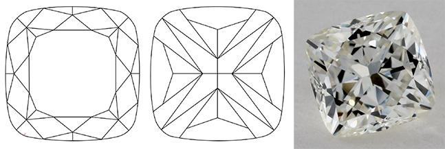 cushion cut variation