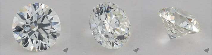 Real diamond image rotating